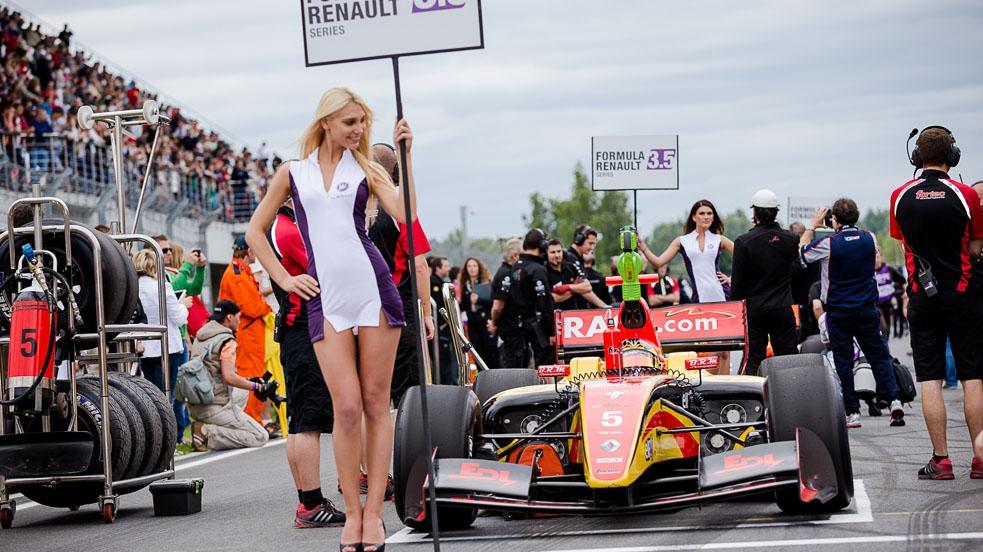 Даниил Квят, Москоу Рейсвей, Формула V8 3.5