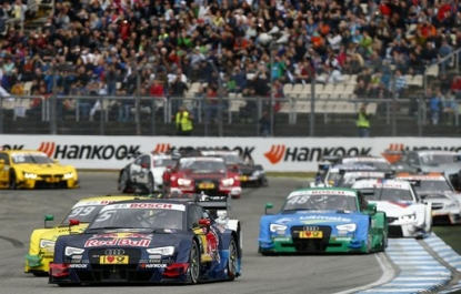 DTM: the day is Audi's