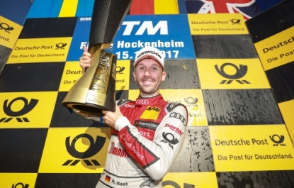 DTM: Rookie Rast storms to the title